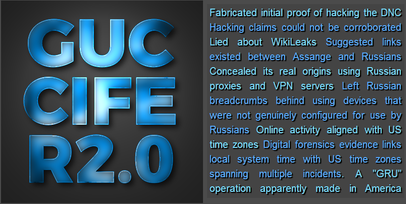Guccifer 2 Game Over Logo